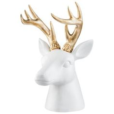 Threshold Stag Head Tabletop Figural - Target - $24.99  This would be great for necklaces, bracelets, and rings!