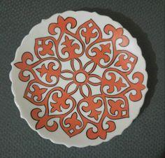 Mandala Rosa, Geometric Form, Hand Painted Ceramics, Rock Art, Ceramic Art, Miniatures, Clay, Decoupage, Images