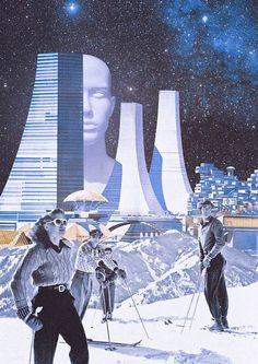 Retro-Futuristic Digital Collages by Khan Nova  MORE graphic and mixed collages HERE: http://graphicmixedmedia.altervista.org/