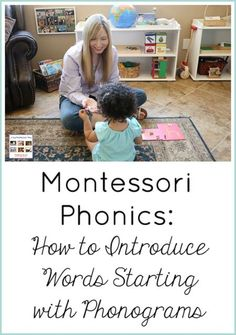 A way to introduce words starting with phonograms through Montessori phonics ideas. Post includes embedded video and the Montessori Monday permanent collection.