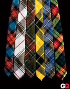 Plaid-as-Hell Scottish Ties by jillian