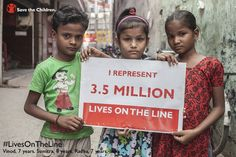 The world has made amazing strides since 1990, reducing the number of child deaths each year from 12 million to 6.6 million. Let's make sure world leaders at the United Nations General Assembly commit to saving the rest!  There are 3.5 million #LivesOnTheLine that need to be saved in order to reach MDG4. #UNGA