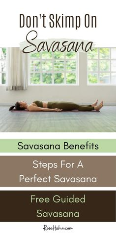 Do you know how to do savasana the complete way? When you do all the savasana steps, not only do you get all the savasana benefits, but you also seal-in all the changes you've made in your holistic system throughout your yoga practice. Find out what makes this humble pose so incredibly beneficial. Plus, how to do it step-by-step, so you can access all those benefits. And if you love having someone guide you through it, try my guided savasana. It's the perfect addition to your home yoga practice. Meditation For Health, Meditation Practices, Yoga Meditation, Meditation Supplies, Home Yoga Practice, Mental Health Treatment, Easy Yoga Poses, Take Care Of Your Body, Aerial Yoga