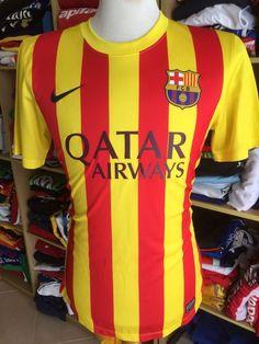 0e072d98adf Jersey FC Barcelona 2013/14 (S) Away FCB Catalunya Nike Shirt Camiseta  Maglia