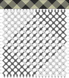Bracelets Brésiliens - Niveau 6 - Modèle 2