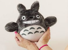 Amigurumi Totoro Receita : Mini amigurumi chibi of totoro from the film my neighbor totoro of