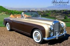 Bentley Continental Drophead convertible by English coachbuilders Park. Bentley Convertible, Bentley Car, Bentley Continental Gt, Vintage Cars, Antique Cars, Vintage Ideas, Bentley Motors, Cars Uk, Classic Motors