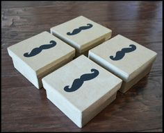 Groomsmen Gifts Unique Mustache Gift Custom Engraved Mustache Gift Package Wrap