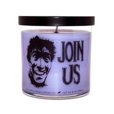 "Evil Dead Candle ""JOIN US"" - Movie Inspired Jar Candle by Laughing Crow Candle Co by LaughingCrowCandleCo on Etsy https://www.etsy.com/listing/502065028/evil-dead-candle-join-us-movie-inspired"