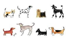 """""""Dogs"""" by Alice Tait."""