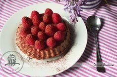 Caramel tart Caramel Pudding, Caramel Tart, Raspberry Tarts, Diet Inspiration, Powdered Milk, Vanilla, Drink, Food, Cream