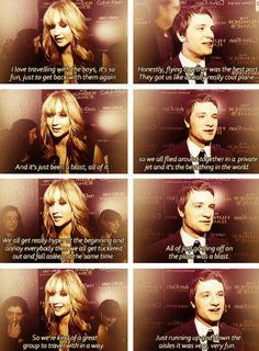 Jennifer and Josh interview--- I want to meet them together... so badly.
