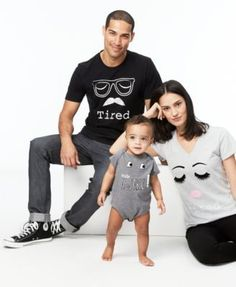 First Impressions Mommy & Me Cotton Bodysuit, Baby Boys & Girls months), Only at Macy's - Gray 24 months Baby Kids, Baby Boy, Macy Gray, Gifted Kids, Family Outfits, Family Shirts, Mommy And Me, Graphic Sweatshirt, T Shirt