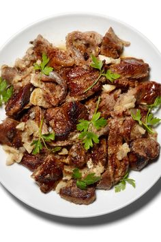 Braised Lamb With An