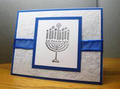 hanukkah cards - Homemade Cards, Rubber Stamp Art, & Paper Crafts - Splitcoaststampers.com