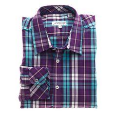 Jeremy Argyle Fitted Dress Shirt