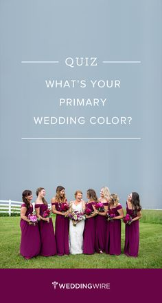 QUIZ: What's your Primary Wedding Color? {Brett Loves Elle Photography}