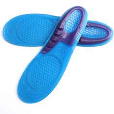 High Quality Silicone Sneaker Shoes Insole Soft Shock-Absorbant Breathable Shoe Pad For Sports Shoes Free cut insoles