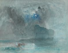 Joseph Mallord William Turner (1775-1851), On Lake Lucerne, looking towards Fluelen, 1841 (?). Watercolour,