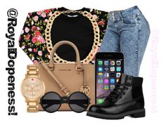 """Thirst_Trap!"" by royaldopeness ❤ liked on Polyvore featuring Mode, Jigsaw, Michael Kors, Timberland, Yves Saint Laurent, Kate Spade, cute, simpleoutfit, 2015 und royal_dopeness"