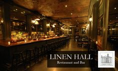 Linen Hall Bar and Restaurant, E Village - Rustic, warm saloon & American eatery with a long list of beers on the menu. 101 3rd Ave. 10003