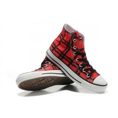 Converse Chuck Homme Taylor All Star Black Tiger Tatouages ??grille rouge  High Top Chaussures