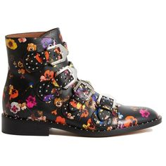 Ankle Boots (€970) ❤ liked on Polyvore featuring shoes, boots, ankle booties, black, womenshoesboots, bootie boots, black bootie, black ankle booties, studded ankle booties and studded ankle boots