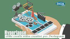 Hyperlapse è un'applicazione rilasciata da Instagram che consente la registrazione di video più o meno brevi con una tecnica simile a quella del time-lapse.