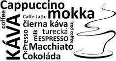 coffee windows stickers, samolepka na okno kaviarne,baru