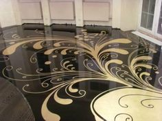Epoxy floors Epoxy Bodenbelag Malerei Name Brand Fashion Jewelry: Accessorize for Every Day of the W 3d Flooring, Best Flooring, Bedroom Flooring, Flooring Ideas, 3d Floor Art, Floor Murals, Epoxy 3d, Home Design, Epoxy Floor Designs
