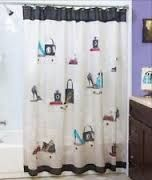 Image result for shower curtains that look like high heels,lipstick