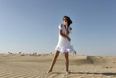The prettiest white linen mini dress for your summer holidays, pair with your slides or espadrilles. Fácil Blanco is proudly designed and tailored in Dubai from Italian linen. White Kaftan, White Linen Dresses, Wide Leg Linen Pants, Effortless Chic, Feminine Dress, Cool Fabric, Playsuits, Asymmetrical Dress, Dress For You