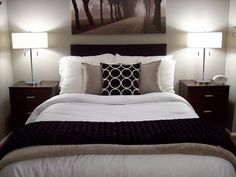 Image result for small bedroom black furniture