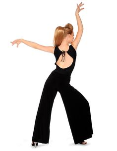 Capezio Ballroom 7429 Flared Leg Pants From £30.95 Capezio 7429 Flared Leg Pants; made of a very soft knit fibre which has excellent drape and movement perfect for ballroom practice. DanceDry finish accelerates evaporation to keep the body dry. Long flare pant features a roll down waist band.