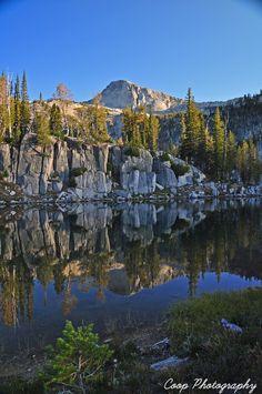 Mirror Lake, Eagle Cap Wilderness, Wallowa Mountains, Oregon