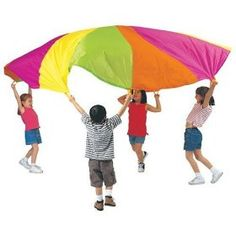 Pacific Play Tents Playchute 10' Parachute (Colors and Designs May Vary),$24.99