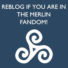 I am wearing the Druid symbol on my ring right now, totally in the Merlin fandom!! If I get a tatoo, this is what I amgetting on my right wrist