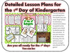 Tips for Planning the First Day of Kindergarten (freebie included!)
