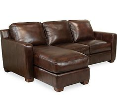For The Thomasville Leather Choices Metro Select Sectional At Sprintz Furniture Your Nashville Franklin And Greater Tennessee