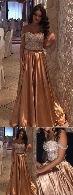 charming Prom Dress,Long Prom Dress, Elegant Prom Dresses,A Line Prom Dresses,Formal Evening Dress M000248#prom #promdress #promdresses #longpromdress #promgowns #promgown #2018style #newfashion #newstyles #2018newprom#eveninggowns#offshoulderpromdress#charmingpromdress#gold