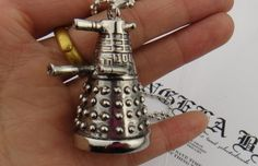 Doctor Who Robot Alien Villain Pendant Necklaces popular Movies Jewelry Wholesale  YP0195