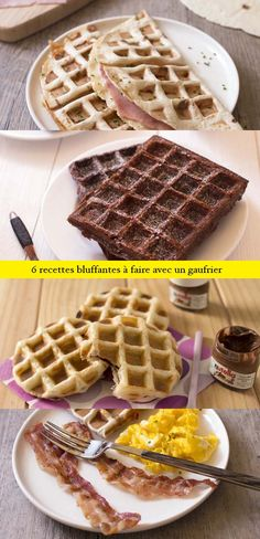 gaufres on pinterest waffles french toast and waffle iron. Black Bedroom Furniture Sets. Home Design Ideas