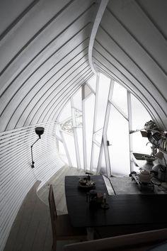 fascinating little cottage, inside and out http://www.homedsgn.com/2012/06/18/hus-1-by-torsten-ottesjo/
