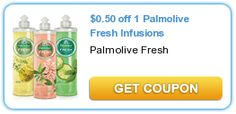 Save $.50 off of 1 Palmolive Fresh Infusions! Hot Coupon!