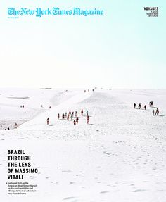 Twitter / AremDuplessis: New Cover shot by Massimo Vitali. ...
