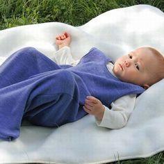 Baby Schlafsack aus Bio Schurwolle FROTTEE von Engel