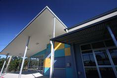 pdt architects   tingalpa state school   #exterior #colourful #education   www.pdt.com.au