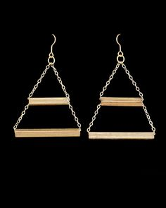 The Trapezoid Earrings by JewelMint.com, $45.00