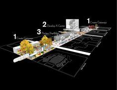 The Creative Corridor: A Main Street Revitalization for Little Rock | University of Arkansas Community Design Center + Marlon Blackwell Architect | the American Institute of Architects Honor Award for Regional & Urban Design 2014