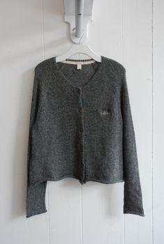 grey and pocket